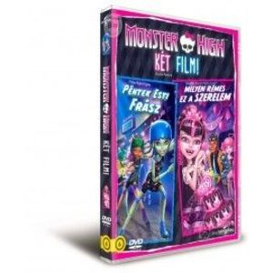 DVD Friday Night Frights si Why Do Ghouls Fall in Love - Monster High imagine