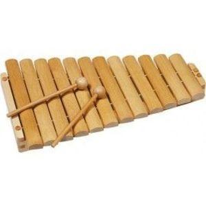 Xilofon din lemn cu 12 tonuri imagine