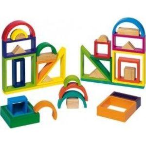 Joc constructie Rainbow imagine
