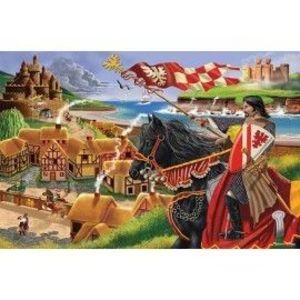 Melissa&Doug - Puzzle de podea Epoca Medievala imagine