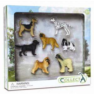 Set 7 figurine Caini - Collecta imagine