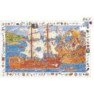 Puzzle observatie Pirati Djeco imagine