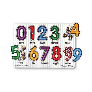 Puzzle lemn Cifrele imagine