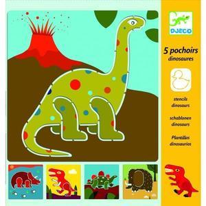Sabloane desen Dinozauri Djeco imagine