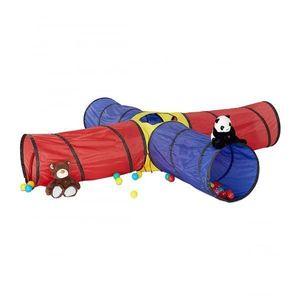Tunel de joaca pentru copii XXL, Multicolor - Relaxdays imagine